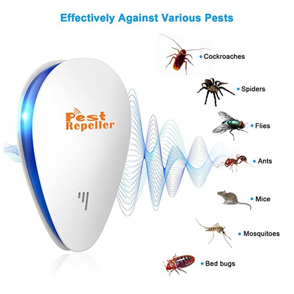 Ультразвуковой многофункциональный инвертор насекомых репеллент Широкий охват Энергия эффективность Улучшенный Ультразвуковой Технология