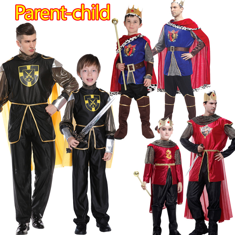 Halloween Cosplay Kids Man Prince Costume For Children The King Costumes Children's Day Boys Fantasias European Royalty Costumes