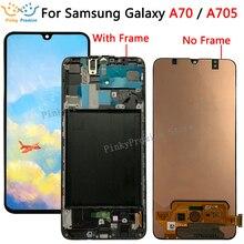 Pantalla LCD de 6,7 pulgadas para móvil, montaje de digitalizador con pantalla táctil de SM A705F, para Samsung Galaxy A70, A705, A705F, A70, 2019