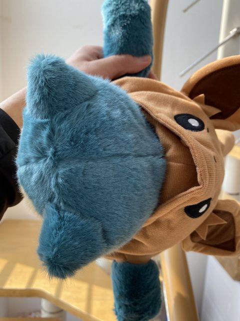 Snorlax miękka sierść królika czuć pluszowe urocze pikachu Eevee płaszcz śpiące zabawki wypchana lalka na dzień dziecka prezent dla dzieci