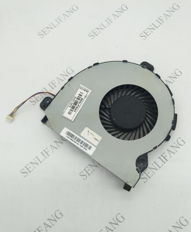Original FOR ASUS ROG GL752VW Laptop CPU Cooler COOLING FAN 13NB0A40AM0101 NS85B04-15F16 Free Shipping