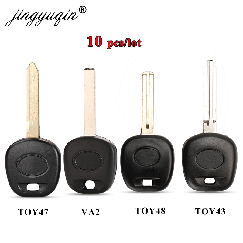 Jingyuqin 10 шт. чехол для Toyota Fit Lexus без чипа Fob чехол для замены