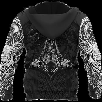 Odin Viking Tattoo 3D Printed Jacket Men/Women Harajuku Hoodie Unisex Casual Streetwear Sweatshirt Pullover sudadera hombre P653 2