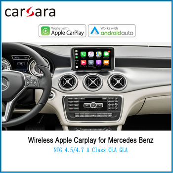 Merce des NTG4.5 4.7 System Wireless CarPlay Android Auto AirPlay Phonelink Box for A CLA GLA B C CLS E GLK G ML SLK Class image