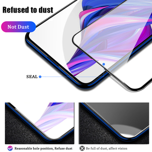 Image 3 - VALAM Tempered Glass Screen Protector For Huawei P smart Z 2019 Full Cover Glass For huawei P smart 2019 plus Z Protective Glass