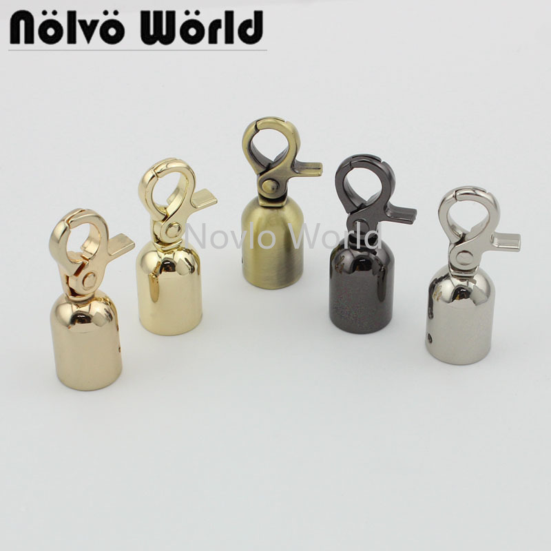 Wholesale 500pcs, 52*17mm, 5 Colors Accept Mix Color, Metal Hanger Connects Bag Handle With Screws Diy Hardware Accessories
