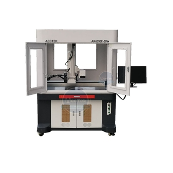 Big size fiber laser marking machine , Raycus/IPG laser generator,  600*900mm working size,MDF plastics Metal marking
