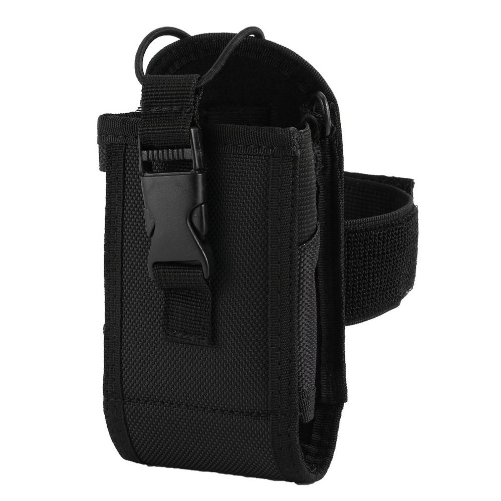 Radio Bag Holster Case For Motorola GP328 MTP850 Midland Icom For Baofeng UV-82 Walkie Talkie Nylon Sleeve Arm Band