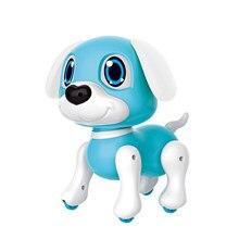 Elektronische Robot Hond Speelgoed Met Gebaar Sensing Lichten En Puppy Geluiden Intelligente Playiing Muziek Gift Voor Meisjes Kids Jongens