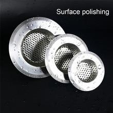 1 Pza 7 cm/9 cm/11 cm Dropshipping baño fregadero colador accesorios de cocina drenaje del fregadero del pelo colador tamiz