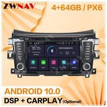 Carplay para 2014, 2015, 2016, 2017, 2018 NISSAN NP300 Navara Android 10 pantalla Multimedia Audio de coche Radio Unidad de navegación GPS