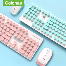Ergonomics-Gaming-Keyboard Computer Wireless-Keyboard-Mouse-Combo HP Lenovo Optical-Mouse