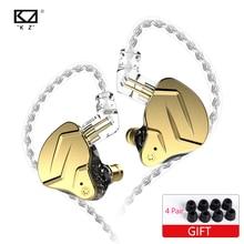 KZ-auriculares internos híbridos ZSN PRO X 1BA + 1DD, DJ, Monito, para correr, KZ, ZSX, ZS10 PRO, ZSNPRO X, ZSNPROX