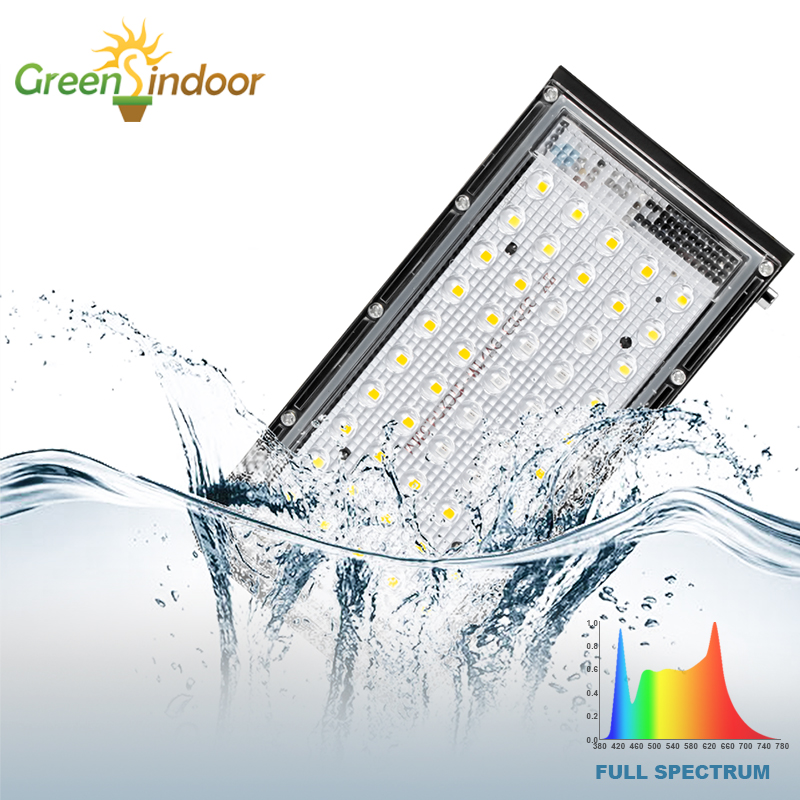 Indoor LED Grow Light 800W Phyto Lamp Full Spectrum Lamp For Plant Grow Tent Light For Plants Warm White Waterproof Led Fitolamp
