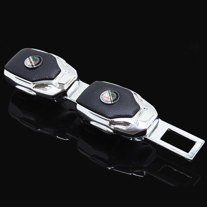 Seggiolino auto copertura della cinghia di metallo isofix accessori auto interni Per bmw jdm Renault Alfa Romeo OPEL Benz Toyota Honda skoda volkswagen