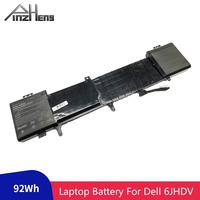 PINZHENG 14.8V 92wh Laptop Battery For Dell 6JHDV NEW 6JHDV YKWXX 5046J Replacement Battery For Dell Alienware 17 R2 R3