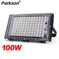 Reflector LED de 100W, lámpara de pared de CA 220V IP65, foco de iluminación exterior, farola, proyector, foco LED para jardín