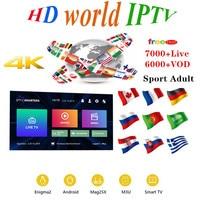 Премиум IP tv подписка IP tv Испания M3u 1 год с 7500 + Live tv & 6000 + Spanish VOD Фильмы HD World Europe List IP tv Server6