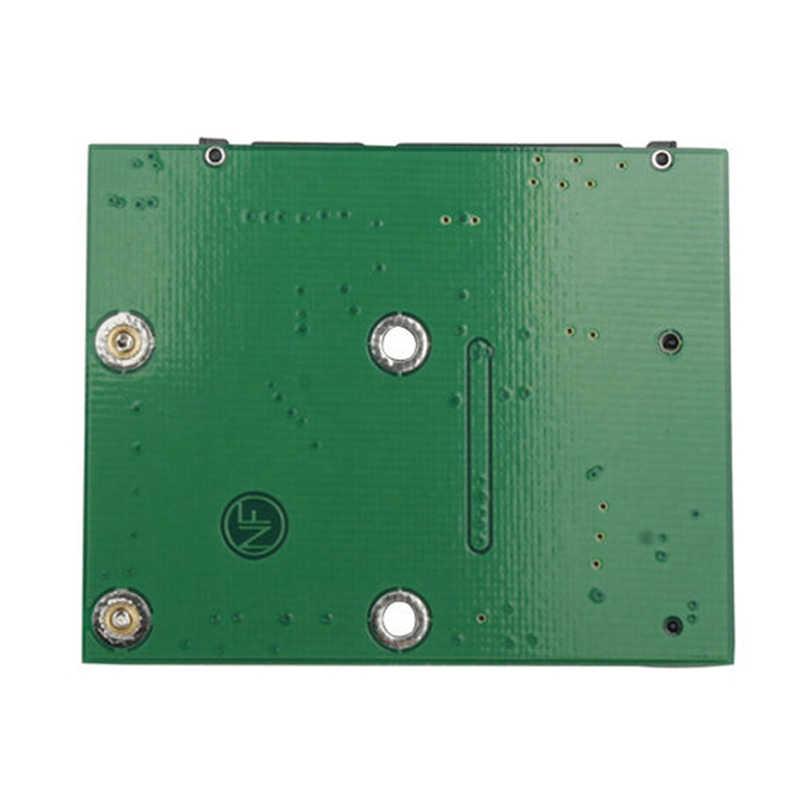 Msata ssd do 2.5 ''SATA 6.0gps adapter płyta modułu karty konwertera mini pcie ssd
