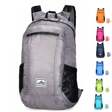 Outdoor Sports Backpack Travel Waterproof Men Portable Folding Bag Comfortable Female Ultra-light Skin Pack