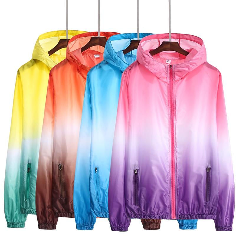 2021 Autumn Jacket for Women Hooded Patchwork  Women's Spring Windbreaker Light with Zipper Hooded Female Coat Outwear 1