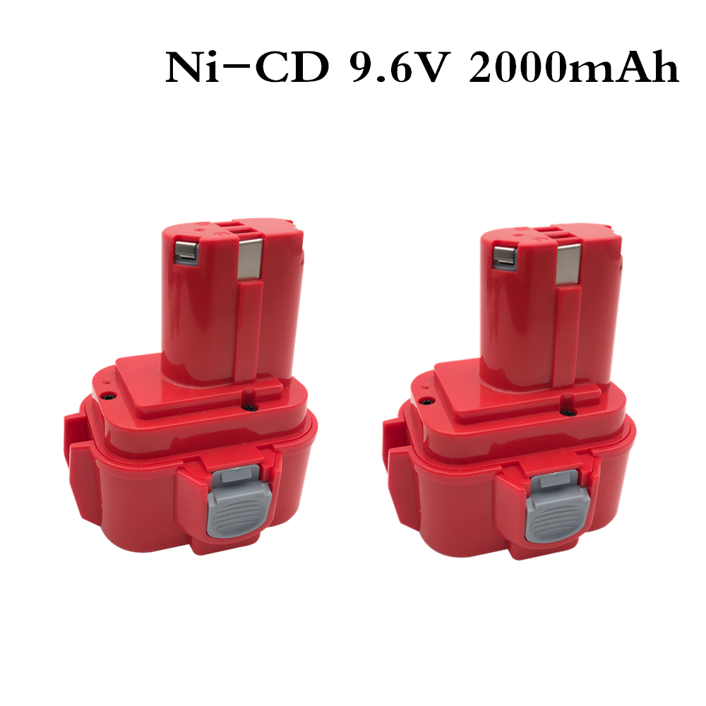 2000mah <font><b>9.6V</b></font> 2.0Ah Power Tools <font><b>Battery</b></font> for <font><b>MAKITA</b></font> <font><b>9120</b></font> 9122 9133 9134 9135 9135A 6222D 6260D L10 Ni-CD image