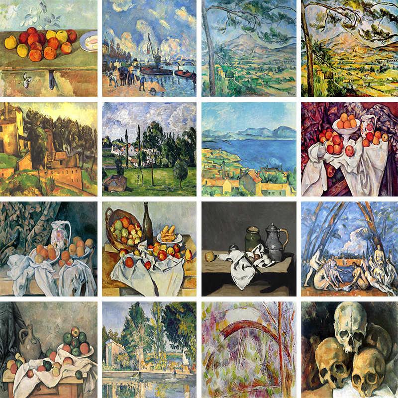 Paul Cezanne Peintre Impressionniste Francais Celebre Peinture Theme Theme Broderie Complete 5d Perles Rondes Ou Carrees Mosaique A Faire Soi Meme Soldes Aliexpress
