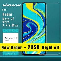 Nillkin dla Xiaomi Redmi Note 9S 9 Pro Max 8T 8 7 Pro K30 szkło hartowane 9H Plus Pro szkło dla Mi 9 9T Pro 8 A3 Mi9 Mi8 SE Lite