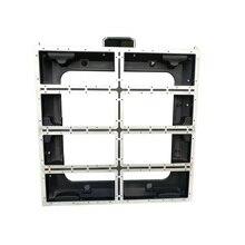 P5/P10 640X640 มม.อลูมิเนียมหล่ออลูมิเนียมตู้ในร่มกลางแจ้งเช่าจอแสดงผล LED หน้าจอ P5 ที่ว่างเปล่าตู้แผง