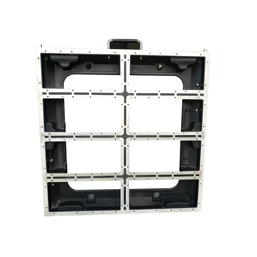 P5/P10 640x640mm Die Casting Aluminum Cabinet  Indoor Outdoor Rental Led Display Screen P5 Empty Cabinet Panel