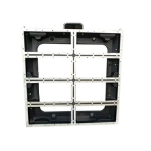 P5/P10 640x640mm למות ליהוק אלומיניום קבינט מקורה חיצוני השכרת led תצוגת מסך p5 ארון ריק פנל