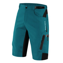 Fietsbroek Quick Dry Mtb Mountainbike Fiets Shorts Mannen Cycle Wear Met Rits Zakken(China)