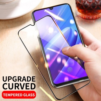 3pcs/Lot Full Cover Tempered Glass Film For Samsung A01 A11 A21 A31 A41 A51 A61 A71 A81 A91 M01 M11 M51 Screen Protector HD image