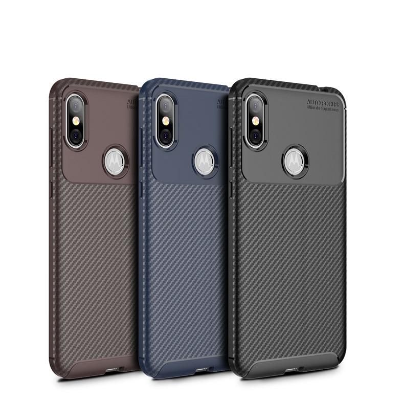 Vintage Carbon Fiber Case For MOTO Edge Plus G8 Plus G8 Play One Macro E6 Play G7 Plus P40 Note P40 Power Anti-Knock Case
