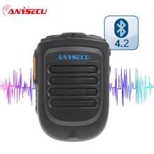 4.2 חזון כף יד אלחוטי Bluetooth PTT מיקרופון B01 עבור 3G 4G רשת רדיו נייד טלפון F22 + F25 g22 G25 אמיתי PTT ZELLO