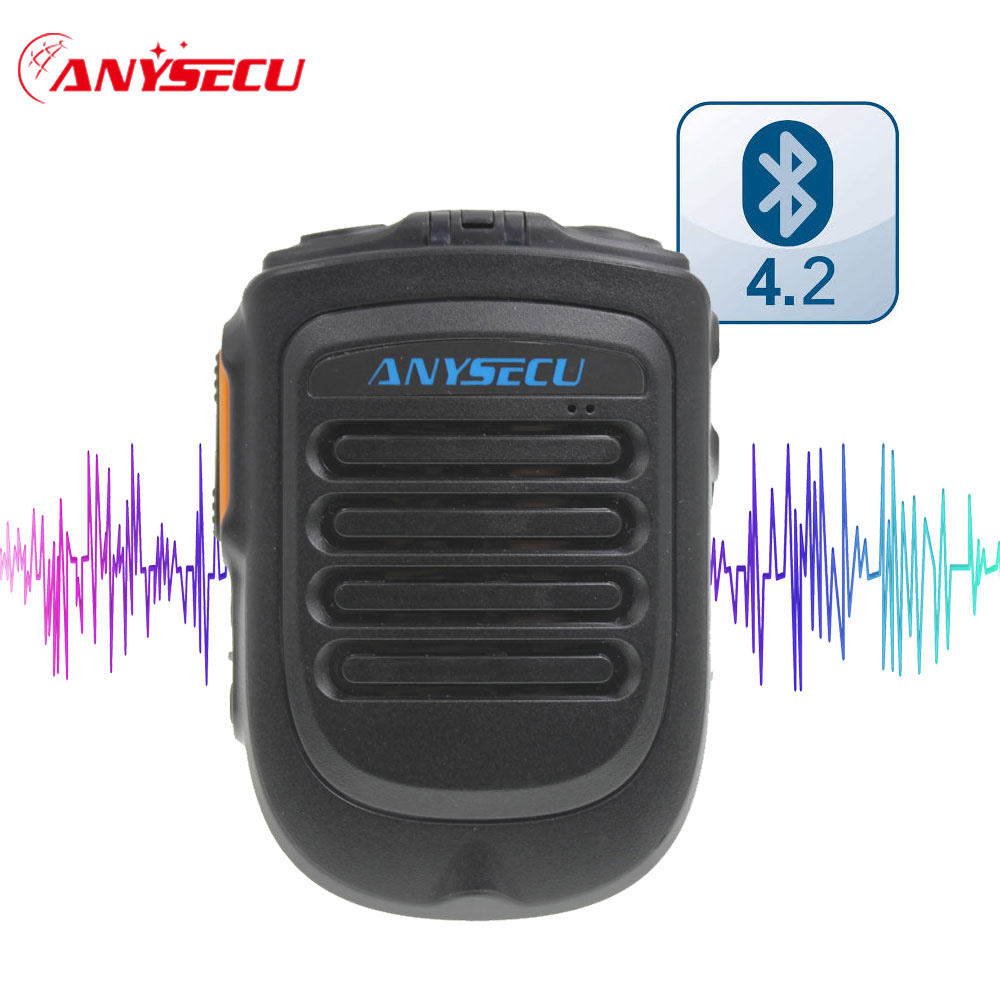 4.2 Vision Handheld Wireless Bluetooth PTT Microphone For 3G 4G Network Radio Mobile Phone F22+ F25 G22 G25  REAL PTT ZELLO