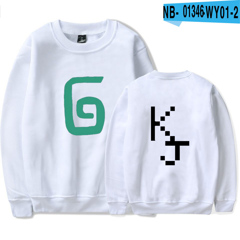 2021 Karl Jacobs Cute Style O-neck Sweatshirt Harajuku Streetwear Printed Stylish Outwear Round Collar Pullovers Clothes 10