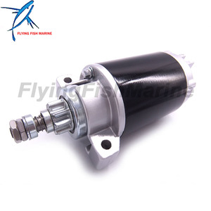 Стартовый двигатель 65W-81800-00 65W-81800-01 65W-81800-02 65W-81800-03 для Yamaha 20HP 25HP, 4-тактный лодочный мотор, 18-6