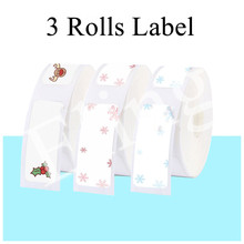 Niimbot D11 Cute Christmas Decoration Thermal Label Sticker New Year Xmas Party Gifts Waterproof for Portable Label Printer