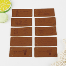 Label DIY Handmade Tags Garment Sewing-Accessories Embossed 50pcs for Bird
