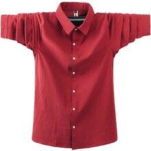 2020 New Fashion Dress Shirts Men Long Sleeve Casual Red Formal
