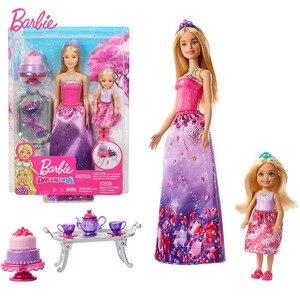 Barbie Dreamtopia Dolls and Te