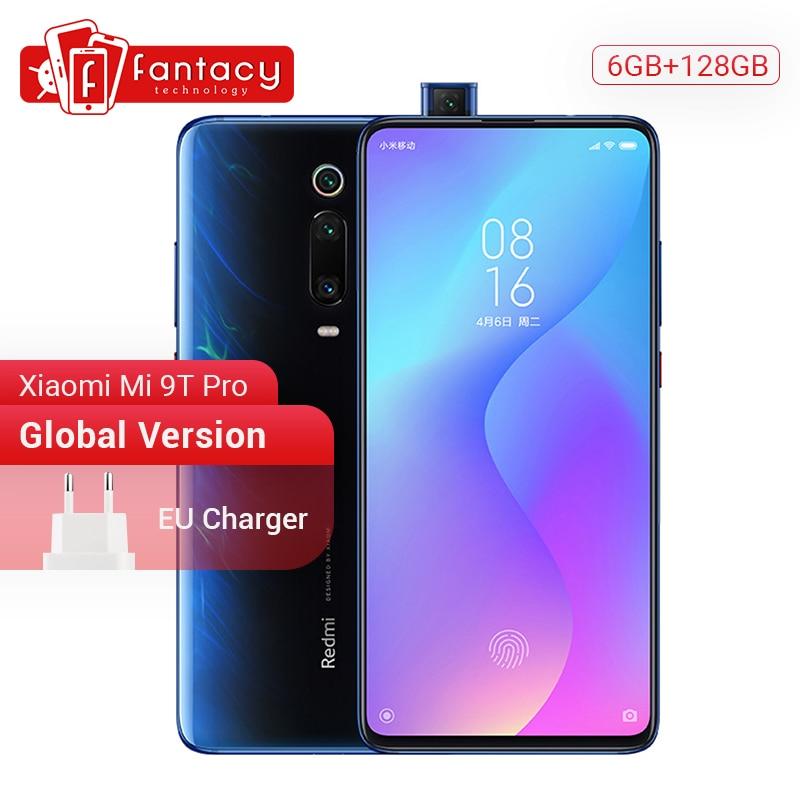Em Estoque Global Versão Xiao mi mi 9T Pro (Red mi K20 Pro) GB 128GB Snapdragon 855 Smartphones 48MP 6 Câmeras Triplos 4000mAh NFC