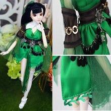 Кукла шарнирная с 12 подвижными суставами 30 см