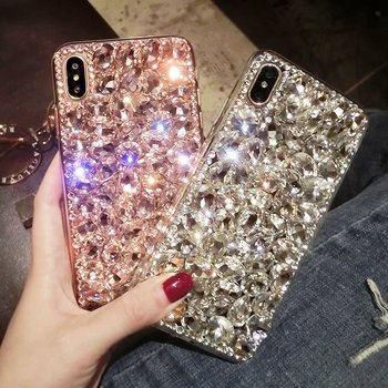 Fashion Luxury Glitter Diamond Case for Huawei Y5 II Cover For Huawei Y5 II 2 Y5II Cun-U29 Cun-L21 Cun k21 L21 U29 Funda Capa