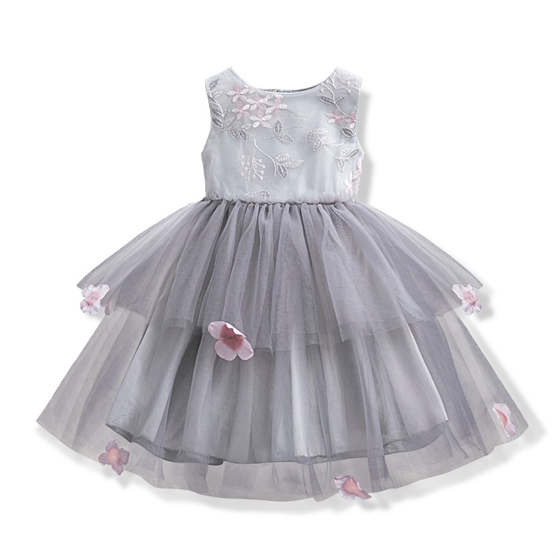 Lace Little Princess Dresses Summer Solid Sleeveless Tulle Tutu Dresses For Girls 2 3 4 5 Lace Little Princess Dresses Summer Solid Sleeveless Tulle Tutu Dresses For Girls 2 3 4 5 6 Years Clothes Party Pageant Vestidos