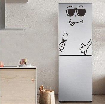 Cute sticker fridge happy deliciou