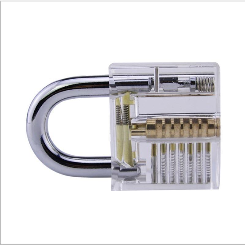 Transparent Padlock Transparent Practice Lock Exercise Lock Transparent Lock Civil Lock