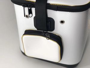 Image 4 - 2018 New DAIWA DAWA Bait Bucket Light Outdoor Multi functional Bait Box Bait Bag Portable Outdoor Fishing Pail 40CM 45CM