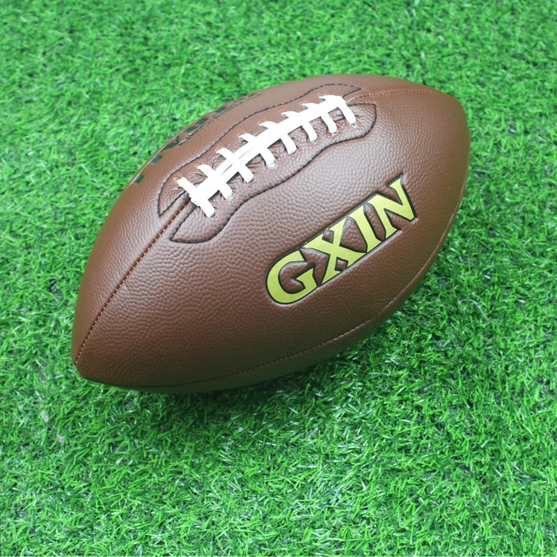 New High Quality Size 6/9 Brown American Football Teen Rugby Youth Adult Training Sports Outdoors